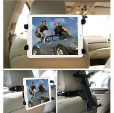 """360° Universal Headrest Seat Car Holder Mount for iPad  2 3 4, Air & 10"""" Tablets"""