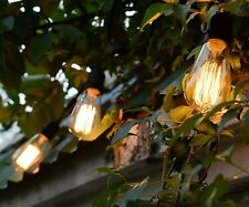 Weatherproof  Outdoor Vintage String Lights Patio Lights W/ Vintage Edison Bulbs