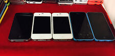 5 x iPhone 4S 5C Cricket nTelos Unlocked T-Mobile