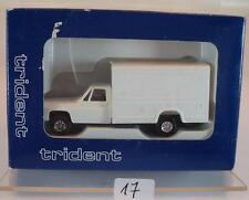 Trident 1/87 nº 90154 Chevrolet delivery truck Weiss OVP #017