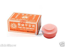 Hong Kong Ping On Ointment 12 x 8g vial Pain Relief natural remedies muscular