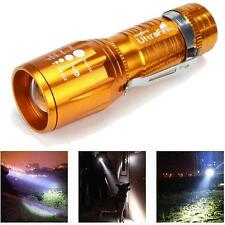 Chic 2200 Lumens CREE XM-L T6 LED Flashlight High Power Torch Light Zoomable New