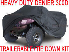 Honda Foreman Rubicon Rincon 450 500 650 ATV Cover HEAVY DUTY +TIE DOWN KIT XL1