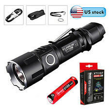 NEW Klarus XT11GT 2000 Lumen Rechargerable Flashlight + 18650 Battery& USB Cable