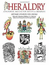 *New* HERALDRY: A Pictorial Archive for Artists and Designers Arthur Fox-Davies