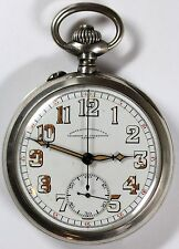 1919 Vacheron & Constantin Corps of Engineers WWI Chronograph Pocket Watch