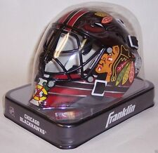 Chicago Blackhawks Franklin Sports NHL Mini Goalie Mask Helmet - NEW in BOX