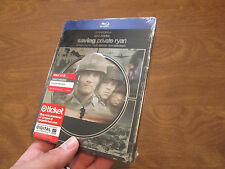 Saving Private Ryan Blu-ray Disc EXCLUSIVE STEELBOOK SOLD OUT HARD TO FIND ! NEW