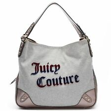 NWT Juicy Couture Jennifer Logo Shopper Satchel Tote Shoulder Bag Fashion -