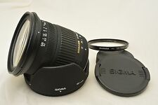 #634 Sigma DC Zoom 17-70mm F2.8-4.5 Macro For Pentax With Hood etc From Japan
