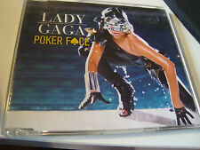 RAR SINGLE CD. LADY GAGA. POKER FACE. 2 TRACKS. INCL. JUST DANCE