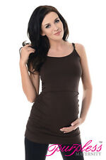 Purpless Maternity Pregnancy & Nursing Cami Vest Top with Adjustable Straps 8021
