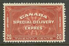 Canada #E4, 1930 20c Special Delivery, Unused Hinged