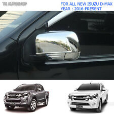 Mirror Chrome Side Indicator Lamp Cover For Isuzu D-Max Holden V-Cross 2016 2017