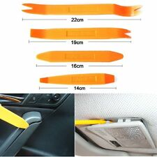 4 pcs Car Radio Door Clip Panel Trim Audio Dashboard Removal Pry Open Tool Kit