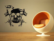 Wall Decor Vinyl Sticker Mural Poster Tattoo Parlor Gun Machine Ink Salon SA1172