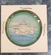 Made In Canada Potato Chips Fighting War Ships # 13 H.M.C.S. Crescent