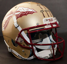 *CUSTOM* FLORIDA STATE SEMINOLES FSU Schutt XP REPLICA Football Helmet w/ROPO-SW