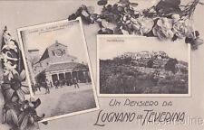 * LUGNANO IN TEVERINA - Chiesa di S.Maria Assunta e Panorama 1911