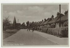 Church Road Hockley Heath Birmingham Vintage Postcard 220a
