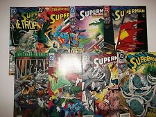 Death of Superman Doomsday (DC Comics 1992) complete set NM