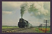 LMH Postcard 1965 CANADIAN NATIONAL  4-8-4 CN CNR #6218   Montreal Excursion