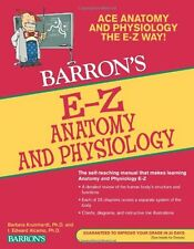 E-Z Anatomy and Physiology (Barron`s E-Z Series) by I. Edward Alcamo Ph.D., (Pap