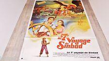 LE 7e VOYAGE DE SINBAD ! ray harryhausen affiche cinema