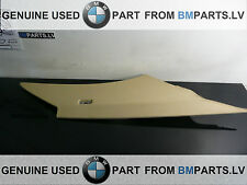 BMW 5 SERI E60 E60 LCI REAR LEFT C-COLUMN TRIM PANEL BEIGE 7027093 51436965451