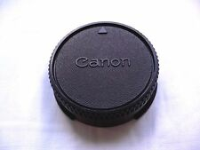 CANON FD FDBL ORIGINAL VINTAGE BLACK REAR LENS CAP COVER MADE IN JAPAN