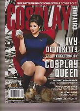 COSPLAY CULTURE Magazine IVY DOOM KITTY Michael Fassbender POWDERPUFF GIRLS 2016