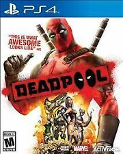 Deadpool USED SEALED (Sony PlayStation 4, 2015) PS4