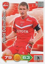 DAVID DUCOURTIOUX # VALENCIENNES.FC CARD PANINI ADRENALYN 2012