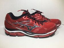Mizuno Wave Enigma 5 Mens Size 15 Red Black Athletic Sneakers Shoes ZG-1536