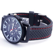 Classic Black Jewelry & Watches Men Quartz Case Relogio часы Sport reloj male