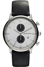 Emporio Armani Classic Watch White/Black/Silver Quartz Analog Men's Watch A