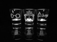 Harry Potter Shot Glass Set - Set of 3-