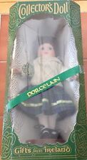 "Vintage Collector's Doll Gifts from Ireland Irish wardrobe  12"" Porcelain"