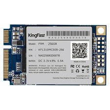 KingFast F9M 256G SSD mSATA3 III MLC SMI2246EN Flash Clip NCQ/TRIM/SMART NEW