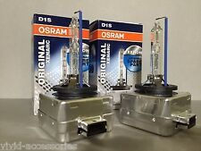 2X NEW OEM 2PCS OSRAM XENARC D1S 66144 ORIGINAL 6000K HID XENON LIGHT BULBS