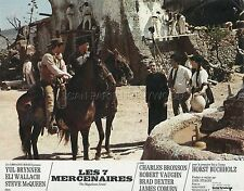 YUL BRYNNER THE MAGNIFICENT SEVEN  1960 VINTAGE LOBBY CARD #5