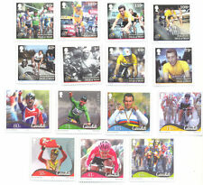 Cycling-Isle of Man-Tour-de-France + Cavendish mnh sets-