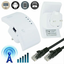 New 300Mbps Wireless WiFi Range Router Repeater Extender Signal Booster UK Plug