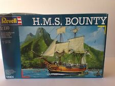 REVELL 1/110 SCALE H.M.S. BOUNTY PLASTIC MODEL SHIP KIT 05404 BRAND NEW