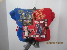 "HARLEY QUINN ""PROPERTY OF JOKER"" SUPER PLUSH ROBE ~DC COMICS~ SUICIDE SQUAD NEW"