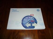 VW Passat Bedienungsanleitung 07/1997
