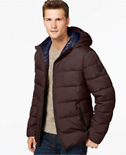 $800 MICHAEL KORS MENS BLACK Hooded PUFFER DOWN COAT PARKA WINTER JACKET SIZE M