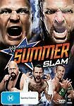 WWE - SummerSlam 2012 (DVD, 2012) NEW AND SEALED