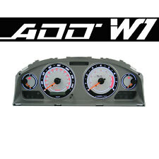ADD W1 Gauge Overlay FOR 2002 2003 Nissan Sentra SER Cluster White