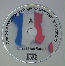 Learn to speak French Audio CD - Intermediate French Language Course FREE P&P